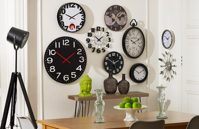 Mis favoritos homy relojes de pared - Reloj decorativo de pared ...