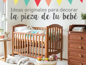 Ideas originales para decorar la pieza de tu bebé