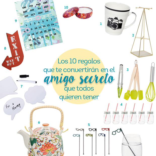 10 Ideas De Regalo Para Amigo Secreto Infalibles