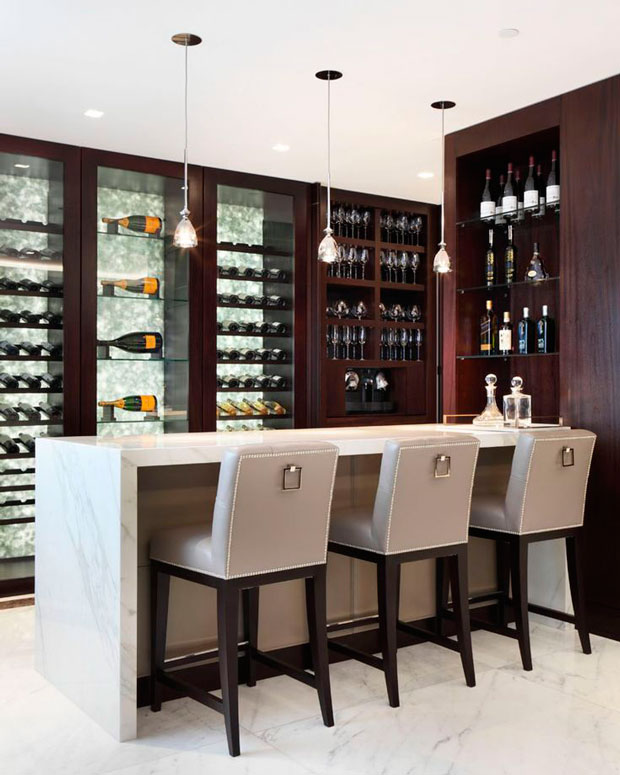 Contemporary Home Bar Design Ideas: Las Tres Decisiones Si Quieres Montar Un Bar En Casa