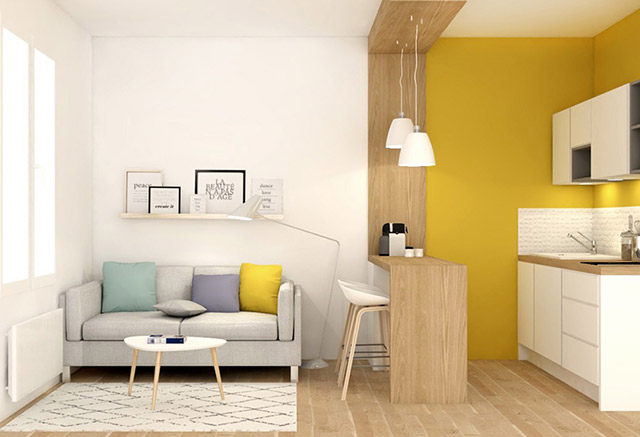 3 ideas para ganar espacio decorando for Lamparas para apartamentos pequenos
