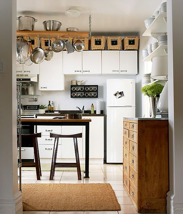 5 tips para decorar cocinas peque as for Ideas para remodelar una cocina pequena