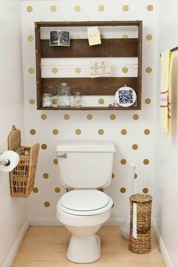 7 ideas para aprovechar un ba o peque o for Decoracion banos homy