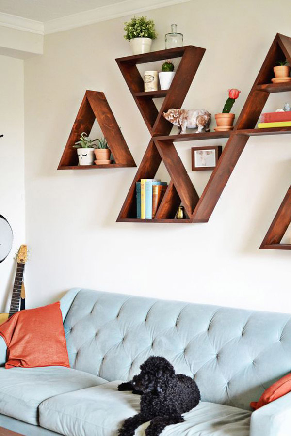 7 Ideas Para Decorar Los Muros De Tu Living - Ideas-decoracion
