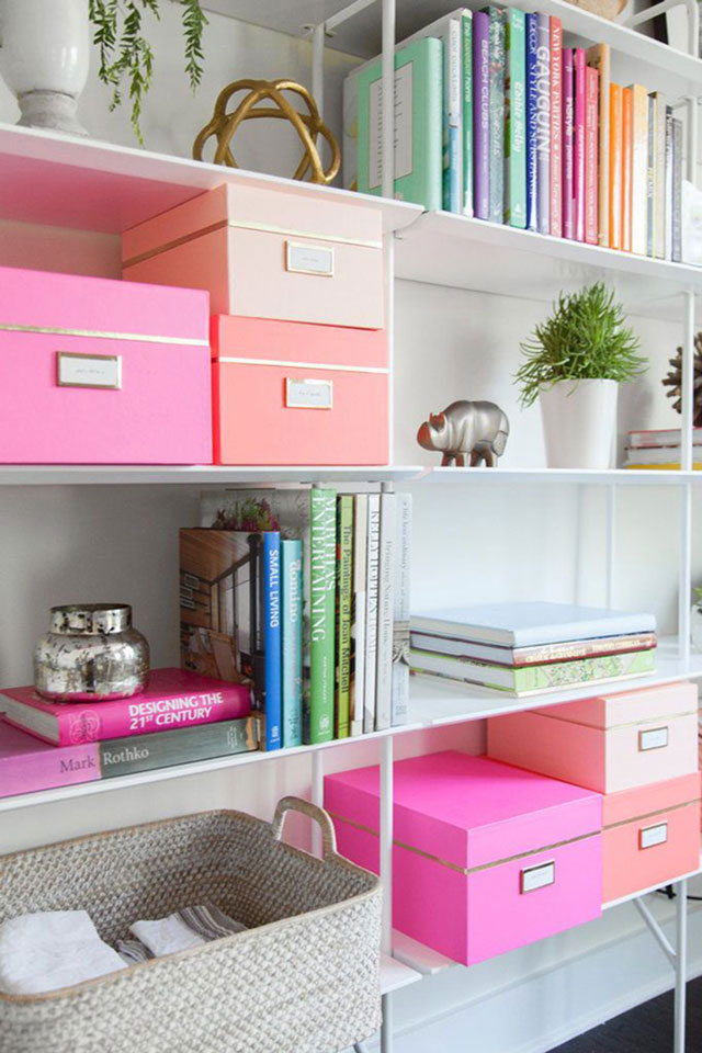 Cajas Organizadoras C Mo No Amarlas: the most organized home
