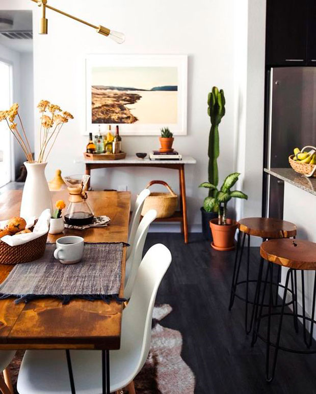 50 Dining Room Decorating Ideas And Pictures: ¿Con Qué Combina Un Suelo Oscuro?