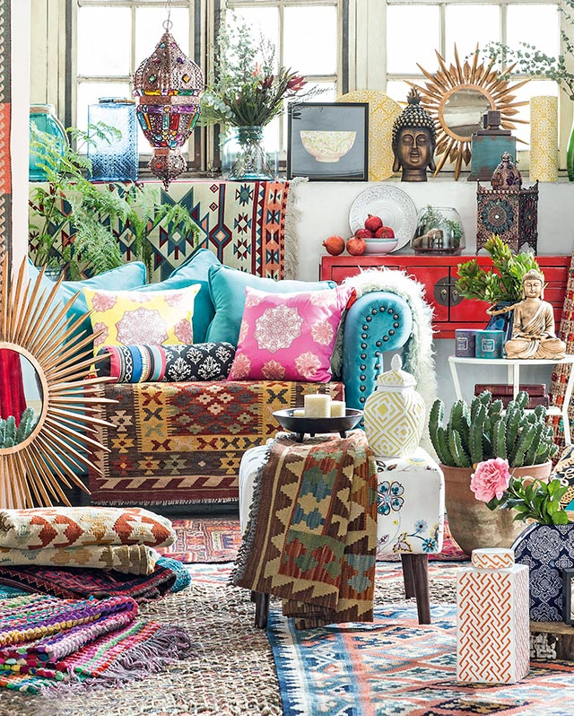 Personaliza tu espacio con la tendencia boho for Decoracion hippie chic
