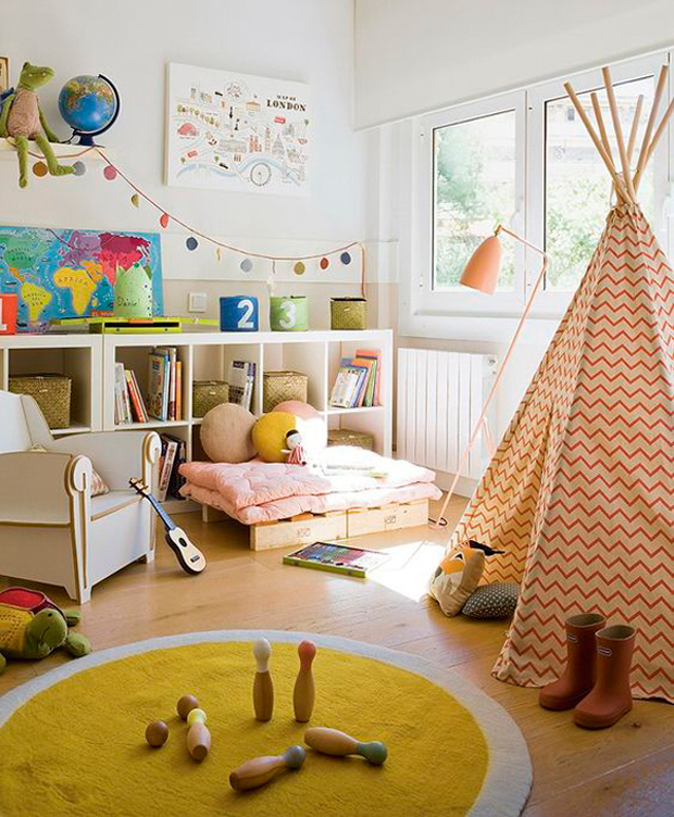 Tendencia: Tipi o carpa india para niños