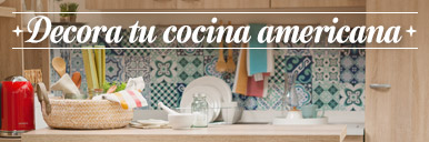 LookBook. Decora tu cocina americana