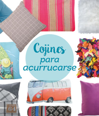 Blog Homy: Cojines para acurrucarse