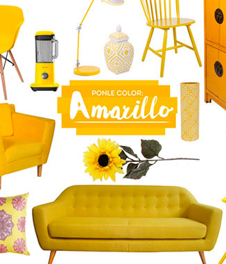 Blog Homy: �Ponle color! Las claves para decorar en amarillo