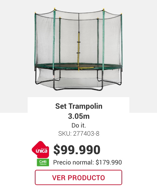 Set Trampolin 3,05. Do It