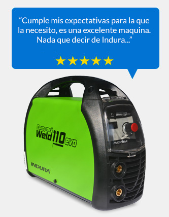 Soldadora inverter arco manual 110 Amp