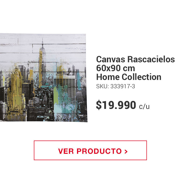 Canvas Rascacielos 60x90 cm Home Collection